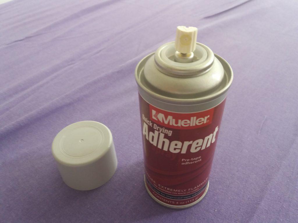 kineziológiai tapasz ragasztó spray